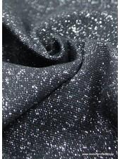 silver black sparkly cuffs