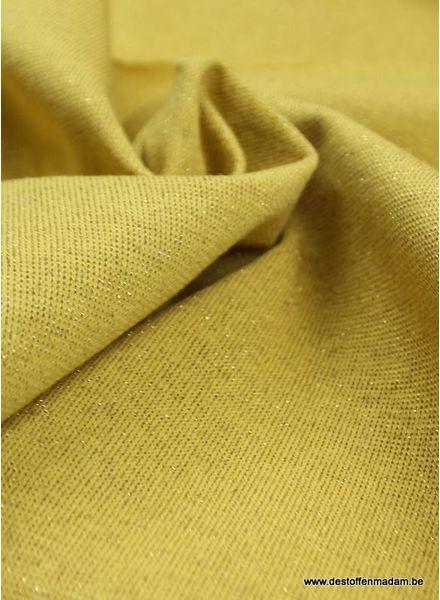 golden mustard sparkly cuffs