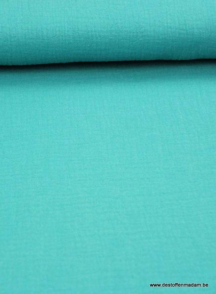 tetra fabric - turquoise blue