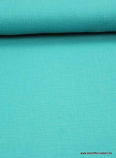 turquoise tetra - double gauze