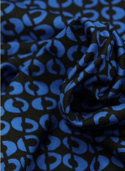 blue circles viscose
