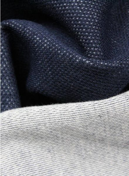 Polytex Stoffen Marte double face donkerblauw