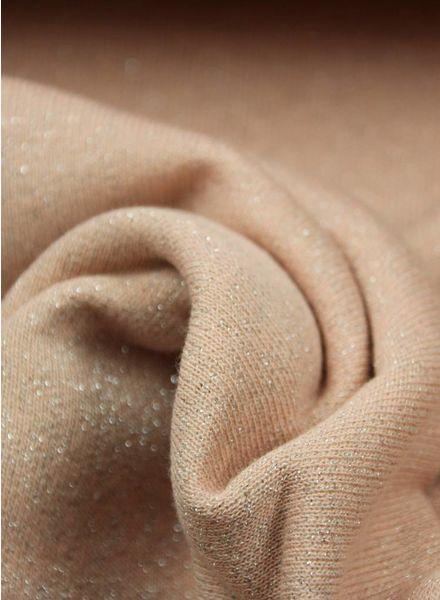 glitter sweater oud roze