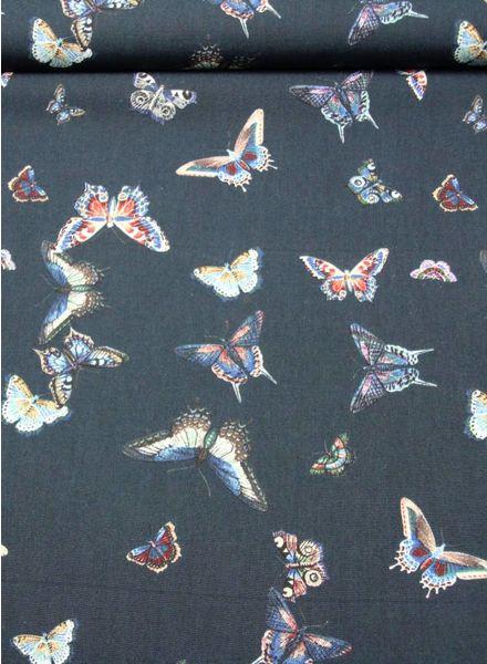 butterfly popeline