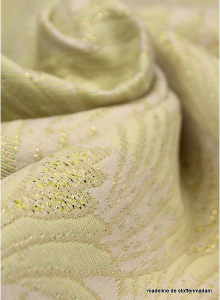 Summer breeze yellow geweven jacquard