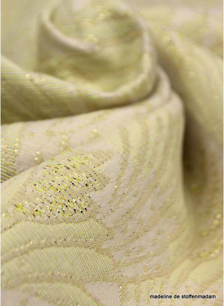 Summer breeze yellow woven jacquard