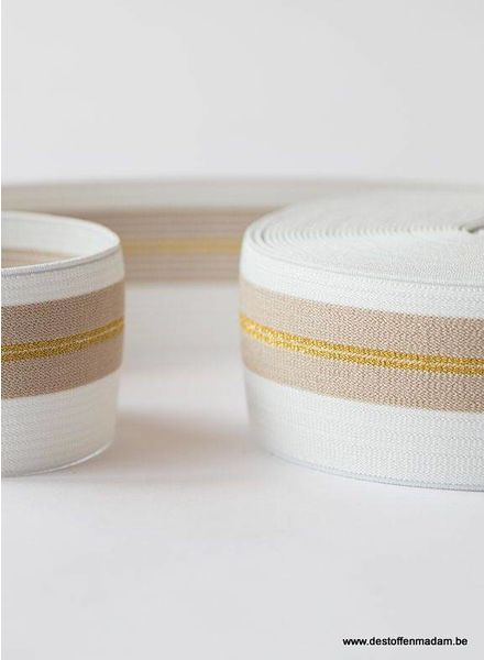 elastic waistband gold