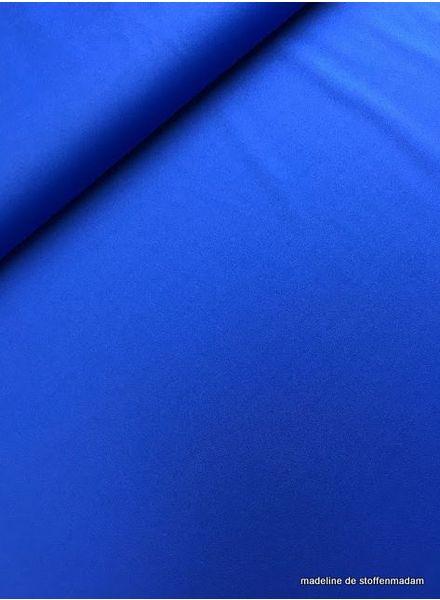 kobalt blauwe lycra sport
