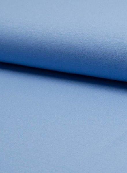 blauw viscose jersey