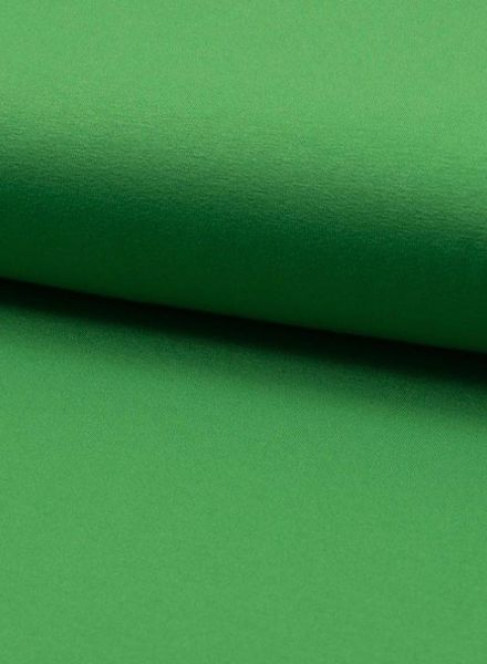 grass green viscose jersey