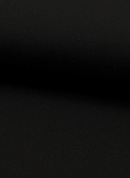zwart viscose jersey