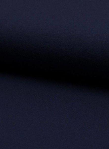 donker marine viscose jersey