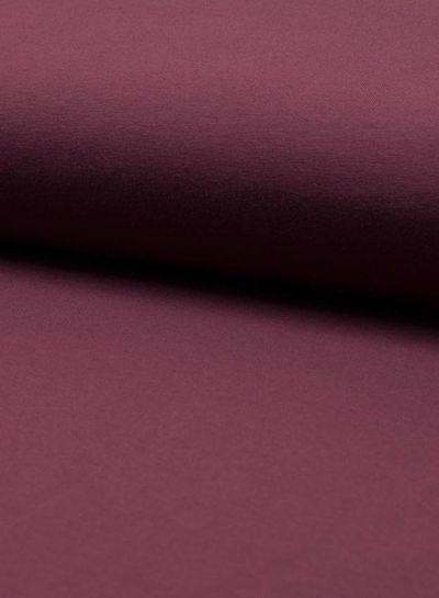 dark bordeaux plain jersey