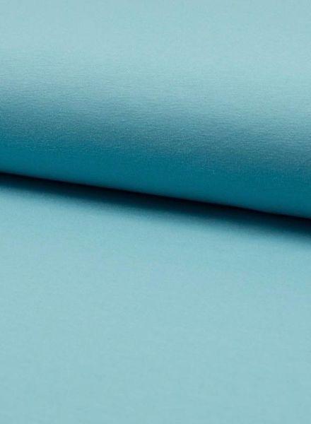 dusty aqua blue plain jersey