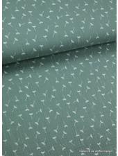 pluisjes mintgroene tetra stof
