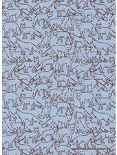 fox sweat blue