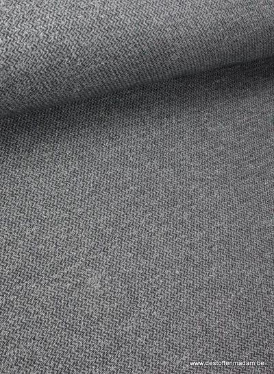 chevron melee sweat dark grey