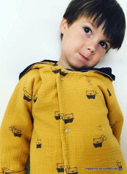 tetra fabric - bear ocre
