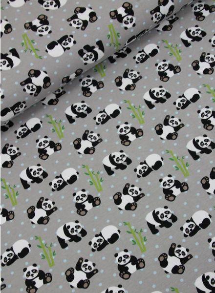 panda grey - tricot