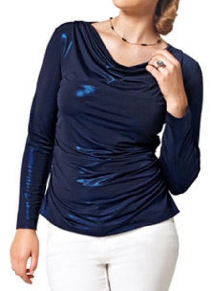 cowl neck blouse 14/11
