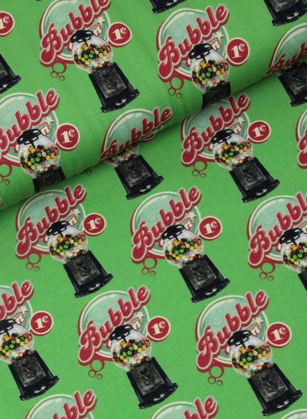 bubblegum green - jersey