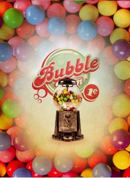 bubblegum paneel - tricot