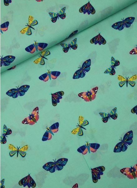 LMV butterfly viscose - Bobbie blouse