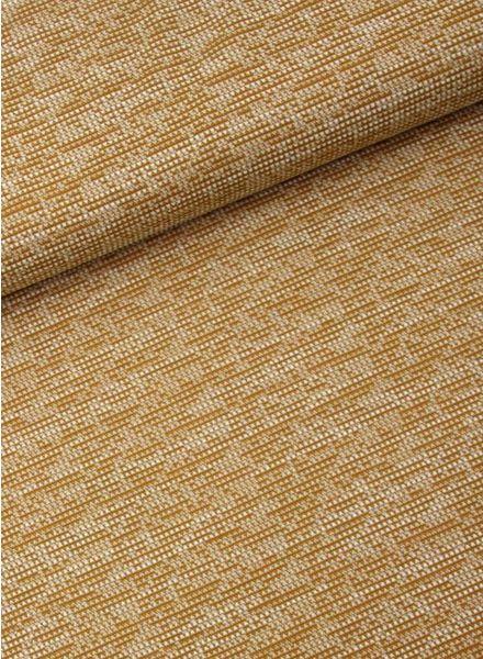 LMV ochre textured knit
