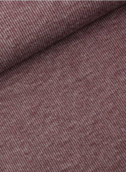LMV burgundy knit with ribbon - Mara Top