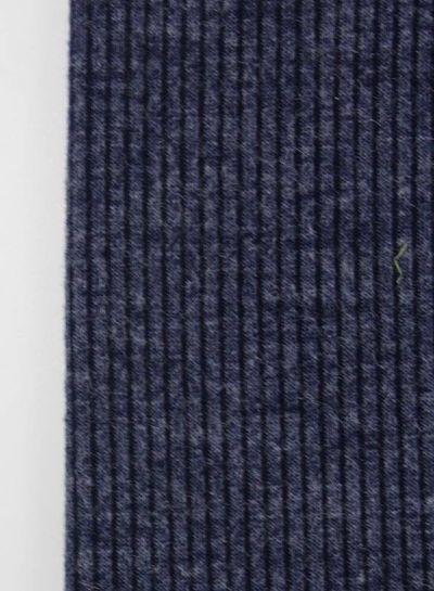 LMV navy tricot met ribbel - Mara Top