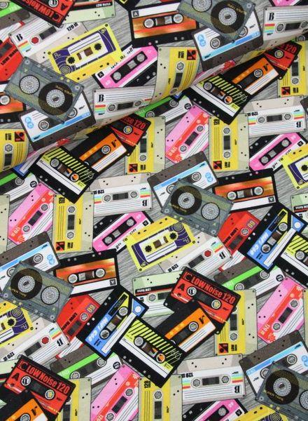 retro cassettes - tricot