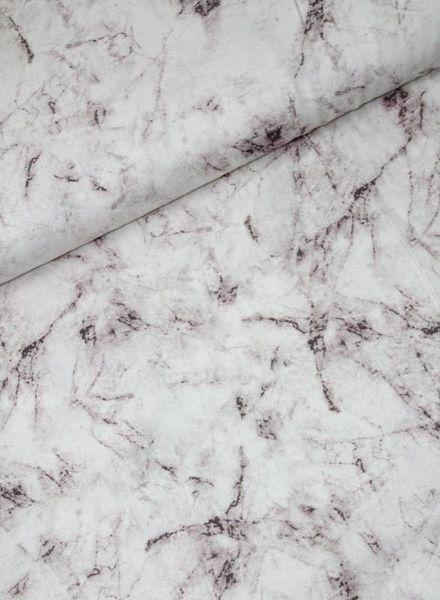 LMV marble  viscose - Monica jurk