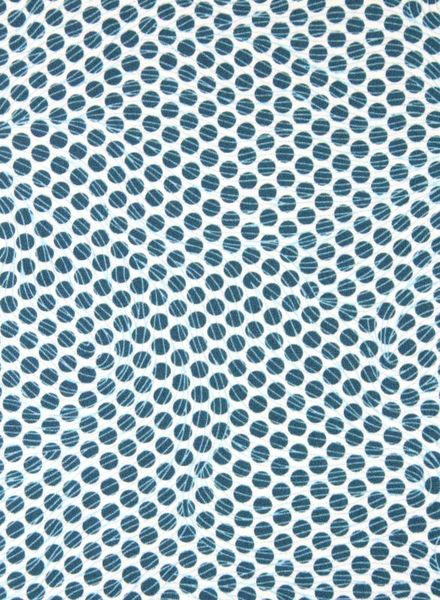 dots florian turquoise -  cotton