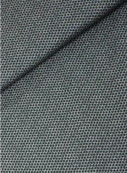 dots florian grijs -  katoen