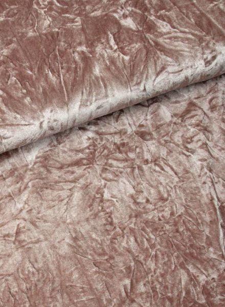 dusty pink - fluweel