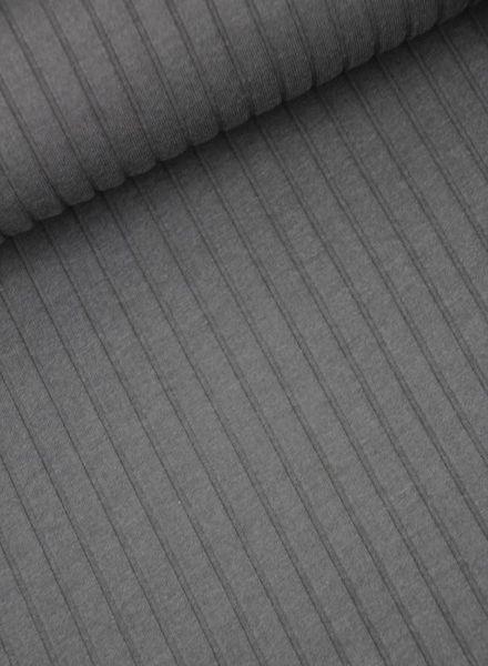 ribbed jersey - grey