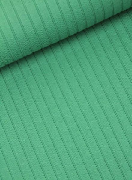 ribbed jersey - green