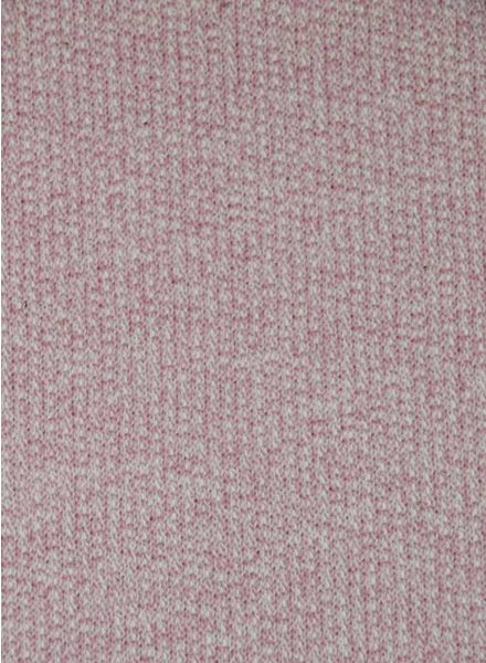 pink melange –  french terry