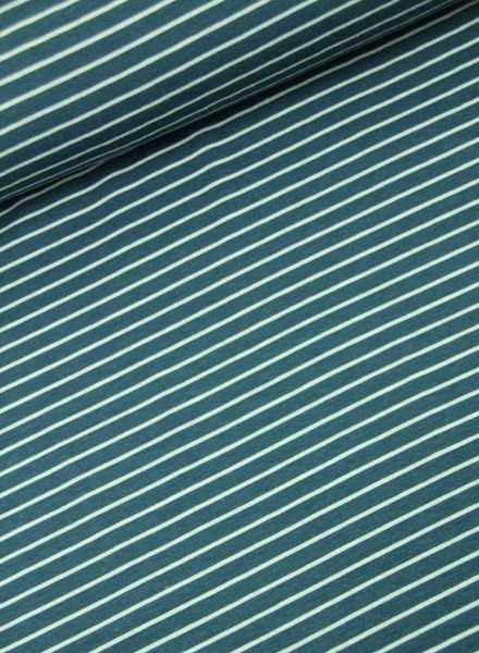 F&D – stripes ice blue bamboo