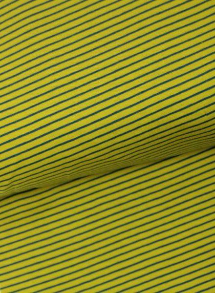 F&D – ocre stripes tricot