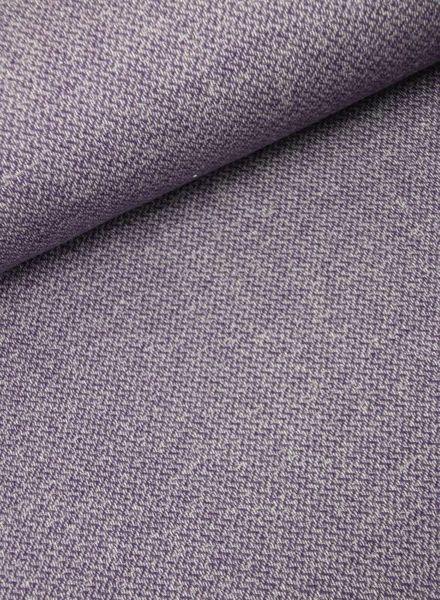 chevron melange lila -  sweater