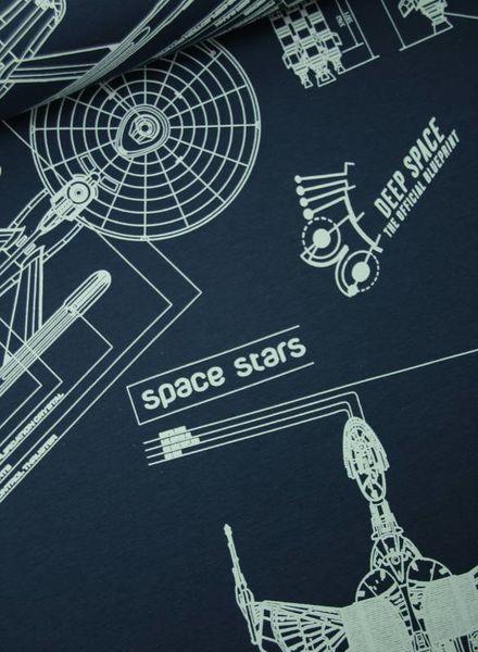 blueprint space navy –  sweat