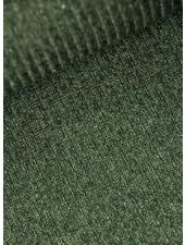 glitterende geribbelde tricot - khaki