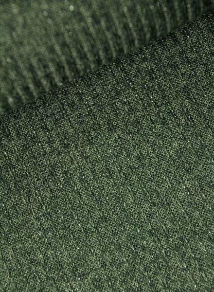 sparkling ribbed knit - khaki