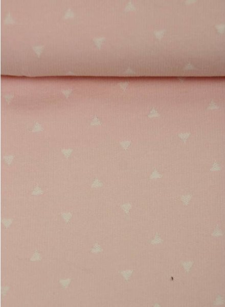 sweet triangle pink - french terry