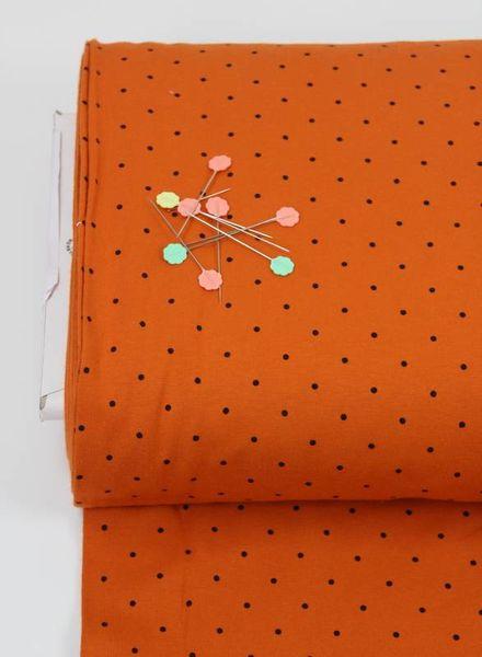 orange dots - tricot