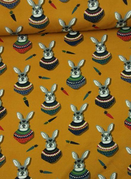 ochre autumn bunny - jersey