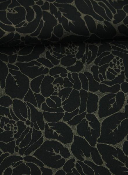 leaves - stretch cotton