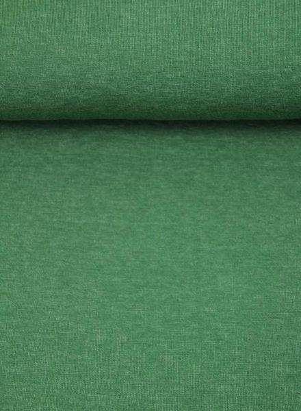 groen double face - gebreide interlock