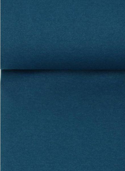 007-petrolblauwe jeans tricot